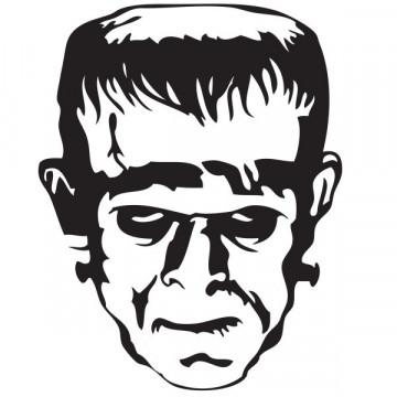Autocolante - Frankenstein 2