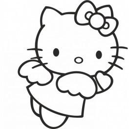 Autocolante - Hello Kitty 2
