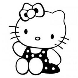 Autocolante - Hello Kitty 5