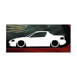 Autocolante - Honda Civic Del Sol