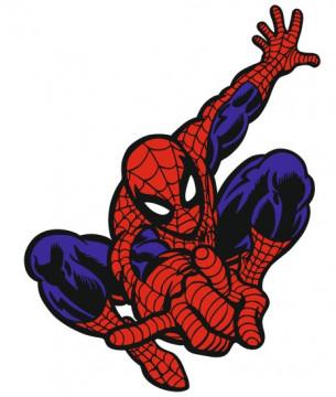Autocolante Impresso - Homem Aranha