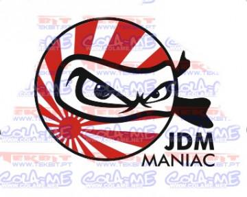 Autocolante Impresso - JDM  Maniac
