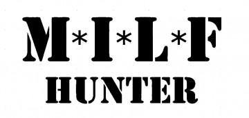 Autocolante - Milf Hunter