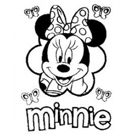 Autocolante - Minnie 2