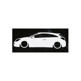 Autocolante - Opel Astra H 3 Portas / OPC / GTC
