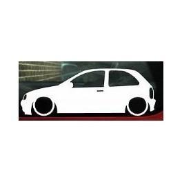 Autocolante - Opel Corsa B