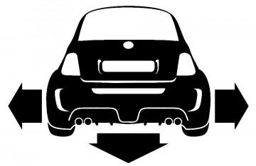 Autocolante para Fiat 500