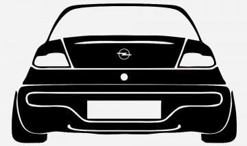 Autocolante para Opel Tigra