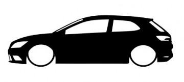 Autocolante para Seat Leon 5F / SC