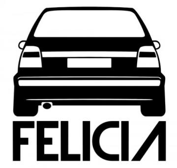 Autocolante  para  Skoda Felicia
