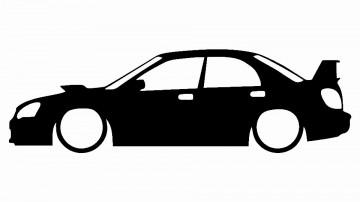 Autocolante para Subaru impreza WRX STi 2