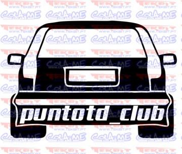 Autocolante - Punto TD Club