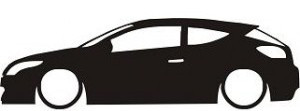 Autocolante - Renault Megane 3