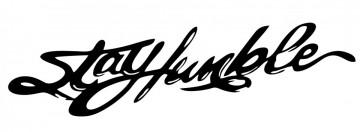 Autocolante  - stay humble