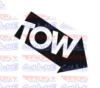 Autocolante - Tow