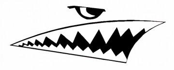 Autocolante - Tubarão
