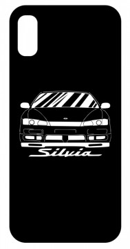 Capa de telemóvel com Nissan Silvia