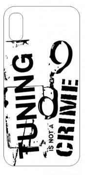 Capa de telemóvel com Tuning is not a crime