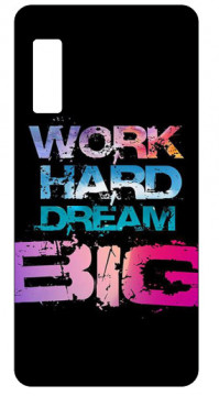 Capa de telemóvel com Work hard dream big