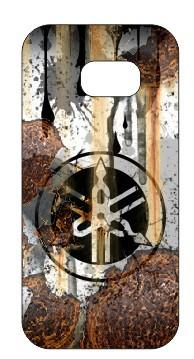Capa de telemóvel com Yamaha  - Estilo Retro