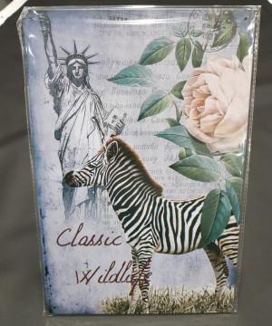 Chapa decorativa com Classic Wildlofe