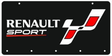 Chaveiro em Acrílico com Renault Sport