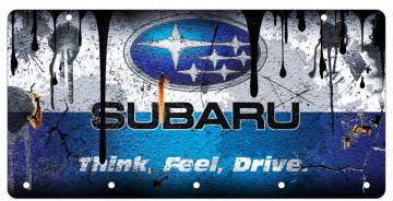 Chaveiro em Acrílico com Subaru