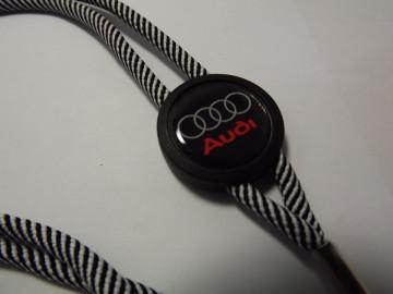 Fita Porta Chaves (lanyard) de Pescoço Ajustável para Audi