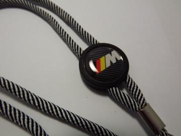 Fita Porta Chaves (lanyard) de Pescoço Ajustável para BMW ///M