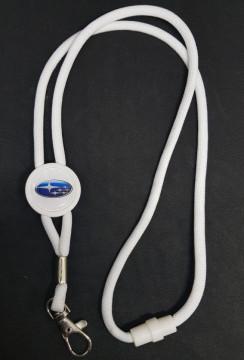Fita Porta Chaves (lanyard) de Pescoço Ajustável para Subaru