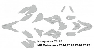 Husqvarna TC 85 MX Motocross 2014 2015 2016 2017