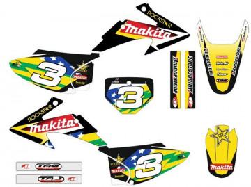 Kit Autocolantes Para HONDA CRF 150 / 230 03-07