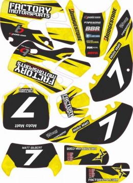 Kit Autocolantes Para Kawasaki KLX 110