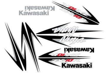 Kit Autocolantes Para Kawasaki Ninja ZX 10R