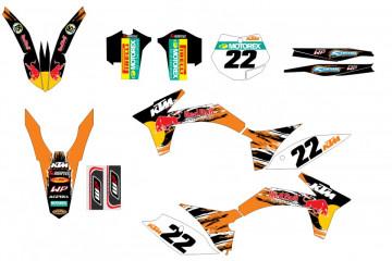 Kit Autocolantes Para KTM SX / MX 11-12