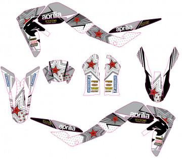 Kit Autocolantes Para Moto - Aprilia SXV RXV MXV 450 550