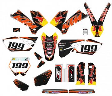 Kit Autocolantes Para Moto - KTM EXC XC XCF 04-07
