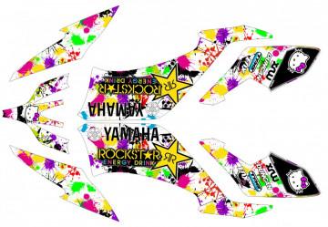Kit Autocolantes Para Moto - Yamaha yfm 250 Raptor