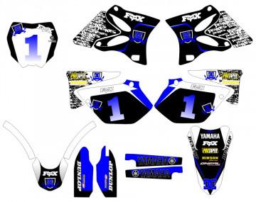 Kit Autocolantes Para Moto - Yamaha YZ 125 / 250 02-10