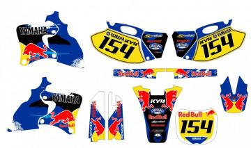 Kit Autocolantes Para Yamaha YZF 250 400 426 98-02