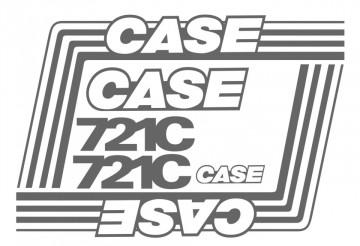 Kit de Autocolantes para CASE 521C