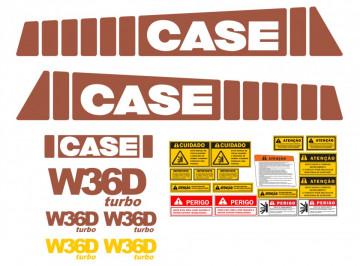 Kit de Autocolantes para CASE W36D