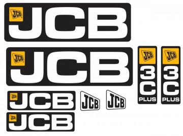 Kit de Autocolantes para JCB 3C Plus