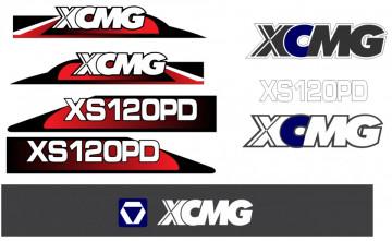 Kit de Autocolantes para XCMG XS120PD