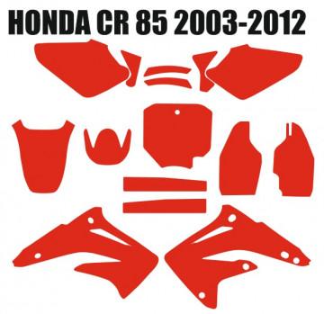 Molde - Honda CR 85 2003 2004 2005 2006 2007 2008 2009 2010 2011 201