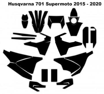 Molde - Husqvarna 701 Supermoto 2015 - 2020
