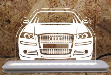 Moldura / Candeeiro com luz de presença - Audi A3 8P