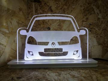 Moldura / Candeeiro com luz de presença - Renault Clio 2, fase 2