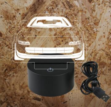 Moldura / Candeeiro com luz de presença - Toyota MR2