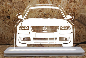 Moldura / Candeeiro com luz de presença - Volkswagen Passat 3BG
